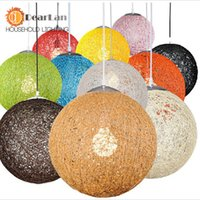 lamp shade - Indoor Lighting Pendant Lights Modern Wicker Sepa Takraw Pendant Lamp Good Price Pendant Lamp With Cane Shades For dinning Room