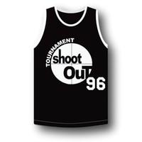 Wholesale Men s Tournament Shakur Tupac Basketball Jersey Birdie Above The Rim Tournament Shoot Out Baloncesto Black Shirts Jersey