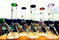 Wholesale beaker base water bong pipes bong glass bongs ice catcher thick glass for smoking downstem mm bowl quot