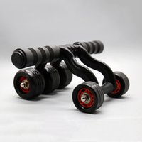 Wholesale New Arrival Abdominal Exerciser AB Wheel Professional Wheels Workout AB Roller Fitness Gym Equipment MD0070