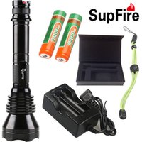 best brightest flashlight - SupFire tatical flashlight use or batteries w camping rechargeable best brightest led flashlight