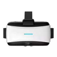 Wholesale Virtual Reality Helmet VR D Glasses Virtual Reality with Camera TF Card Slot for vr Games Video Glasses Google Cardboard video game