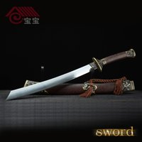 air force swords - LQS15hj100007 vintage home decor Chinese katana Tang sword nice air force chic csgo bar coin Patriotism Collectible Casting Hot
