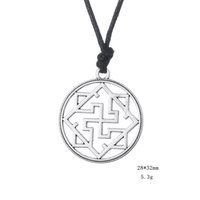 amulet symbols - Myshape Wiccan Jewelry Valkyrie Symbol Pagan Amulet Pendant Slavic Necklaces Wax Wire Gift for Man Woman