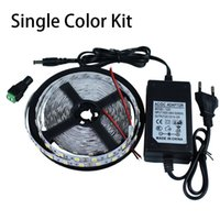 Wholesale 5m LEDs SMD LED strip light V A Power Adapter Supply High Quality UL ETL SAA CE ROHS approved years warranty