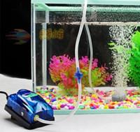 Wholesale 2 Levels Adjustable Aquarium Oxygen Pump Ultra Quiet Fish Tank Air Pump Air Tube Air Stone