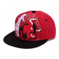 chicago bull - 2016 Vogue Sports Baseball Caps Women Men Chapeu Casquette D bulls Strapback Hiking Hip Hop Hats gorras Chicago style hat
