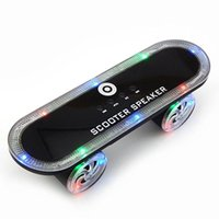 Wholesale BT03 Hoverboard with Bluetooth Speaker LED Lights Wireless Speakers Stereo TF Card U Disk Support Speaker For Any Smart Cellphone