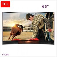 Wholesale TCL inches curved Edition TV UHD Ultra HD K LED LCD TV Harman Kardon stereo Andrews smart TV