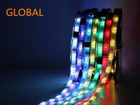 ac dc night - 2016 New Arrive Hot Sale DC V Led Strips Lights RGB Waterproof IP65 Leds SMD Meter Roll Best For beautiful night Led Lights