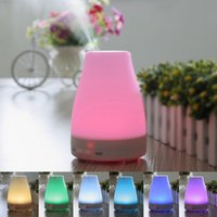 Wholesale Hot New LED Light Ultrasonic Aroma Diffuser Humidifier Aromatherapy Essential Oil LED Ultrasonic Humidifier B037