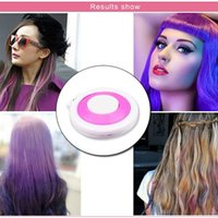 Wholesale 2016 Hot Huez colors Dye hair powdery cake Temporary Hair Chalk Powder Craze Soft Pastels Salon Party DIY Hair Colors