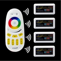 Wholesale 2 G Wireless RF Remote Controller and RGB RGBW zone RGB LED Controller DC12 V For Led Flexible Strip Light