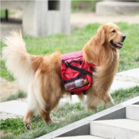 Wholesale Large Dog Bag Saddle Backpack for Outdoor Hiking Camping Training Pet Carrier Product