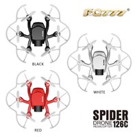 Wholesale New FQ777 C FQ777 C Mini Spider With MP HD Camera Dual Mode MODE1 And MODE One Key Switch RC Hexacopter RTF