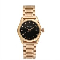 advanced simple - GUOU Personalized Ladies Watches Simple Wristwatches With Calendar Luxury Durable Stainless Steel Strap Quartz Movement Advanced Vacuum Plat