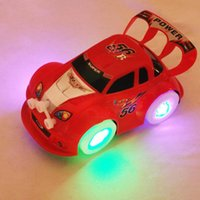Wholesale Toy Kids Boys Girls Cool Racing Car Music Electric Red Yellow new Good A00054 SMAD