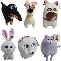 amazing stuff - 6 styles The Secret Life of Pets plush toys inch cartoon Stuffed Animals cm super soft doll best quality amazing