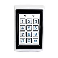 access single - Good Quality Metal Access Control System KHz Single Door Standalone Blue Backlight Home Security F1644D