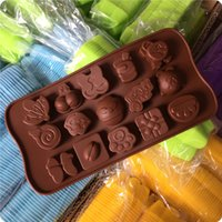 amazing cakes - Cute DIY Chocolate Molds Various Pattern Amazing Kitchen Jelly Ice Molds Cake Mould Bakeware of