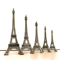 Wholesale A076 Vintage Decor Metal Craft Retro Antique Bronze Eiffel Tower Model Home Decoration cm cm cm cm cm cm cm