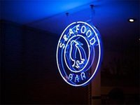 seafood - 2016 LED Seafood Bar Real Glass Neon Light Signs Bar Pub Restaurant Billiards Shops Display Signboards quot x14 quot