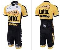 bianchi touring bikes - Lotto Bianchi JUMBO Bike Cycling Jersey Mens Men s Short Sleeve Cycling Jerseys Cycling Wear Tour De France Cheap Clothes china Sportswear