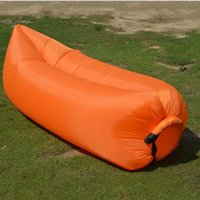 Wholesale Portable inflatable air sleep bags sofa for outdoor camping air beach bag for sleeping inflatable air lounge sofa bed