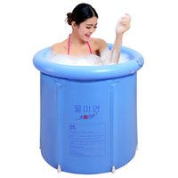 Wholesale Folding water beauty bath tub inflatable bathtub thickened plastic bath tub cm cm tub with pump