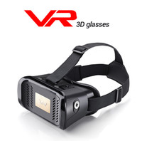 Wholesale US Stock D VR Box Virtual Reality Movie Game Glasses Cardboard VR Glasses For quot Phone Android IOS Iphone Samsung