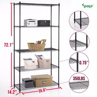 adjustable wire rack - Heavy Duty quot x36 quot x14 quot Wire Shelving Rack Tier Layer Shelf Steel Adjustable