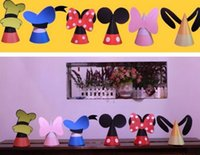 Wholesale 10packs Child birthday decoration supplies birthday cap event and party decoration Mickey mouse cap gifts for Child s day
