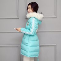 animal ladies jackets - Student Casual Jacket Girls Winter Coat Down Parkas Big Fur Hood Ladies Winter Clothes Korean Down jackets Women Thicken Warm Outwear