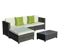 best sectional - Best seller PC Outdoor Patio Sofa Set Sectional Furniture PE Wicker Rattan Deck Couch Patio PE Outdoor Wicker Rattan sofa Rattan Furniture