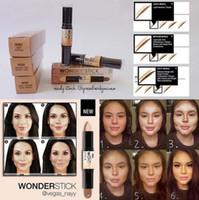 beauty eye cream - NYX Wonder Stick Trimming High Light Brightens Cover Concealer Eye Lip Shadow Powder Silkworm Pen Brand Makeup Beauty Face Care
