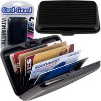 abs cartridge - Europe stylish waterproof anti magnetic metal card bag aluminum cartridge card case wallet credit card package