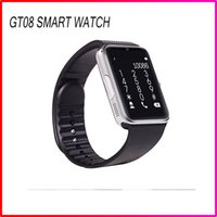 best discount card - Best Discount Bluetooth Smart watch SIM Intelligent card Wirst GSM Sport Smart Watches GT08 phone mate For Apple Andriod Samsung Cell Phones