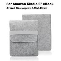 Wholesale 1pcs Fashion Felt Bag Case for Amazon Kindle Oasis Paperwhite Version Voyage eBook