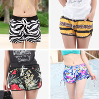 Wholesale Plus size best beach short pant lady sexy run sport short casual womens surf board short swimwear swimsuit girl high waist gym short