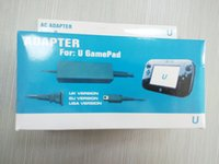 Wholesale For WIIU Controller Gamepad AC Adapter Power Charging AC Adapter High Quality For WIIU Controller Original