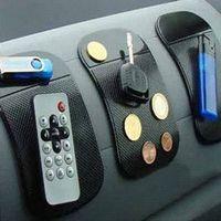 Wholesale Powerful Silica Gel Magic Sticky Pad Anti Slip Non Slip Mat for Car Phone PDA mp3 mp4 Car s Accessories Anti slip mat