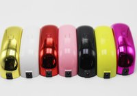 Wholesale DHL Fast Dry Portable Mini LED UV Nail Lamp Nail Dryers US EU Plug USB Electric Curing Lamp Machine W Seconds