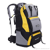 Wholesale 60L Hiking Camping Backpack Outdoor Sports Bag Mountaineering Rucksack Waterproof Infantry Pack Men s Travel Packsack