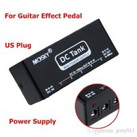 Wholesale Easy Operation DC Tank Guitar Effects Power Supply With AC Adapter and Six Connecting Cables Retail