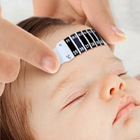 baby health tips - 6pcs Baby Thermometer Reusable Flexible Toddler Forehead Care Health Monitors