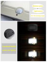 balcony post - Super LED Warm White Smart Infrared PIR Auto Motion Sensor book Light Human Body Induction Hallway Passageway Balcony Closet Cabinet light