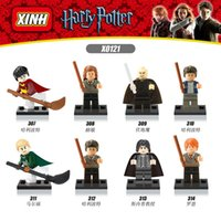 Wholesale Harry Potter building blocks bricks minifigures sets for children gifts christmas gifts