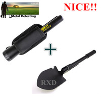 Wholesale NEW upgraded Sensitive Garrett Metal Detector and shovel Pro Pointer Pinpointing Hand Held Metal Detector KIT with shovel