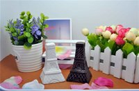 wedding souvenirs - sets Unique Eiffel Tower Design Ceramic Salt and Pepper Shakers Souvenirs Wedding Favor caster