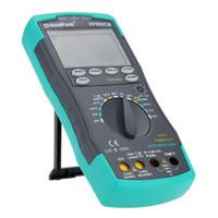 Wholesale Stable LCD HoldPeak HP CN Digital Multimeter DC AC Voltage Current Meter Temperature Meaurement Auto Range